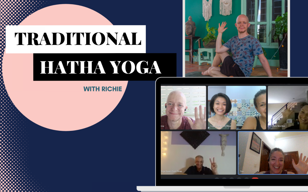 Traditional Hatha Yoga with Richie – Live Online Class