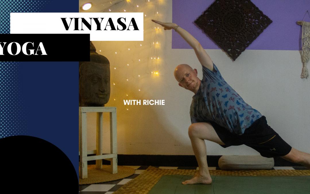 Vinyasa Yoga with Richie – Live Online Class