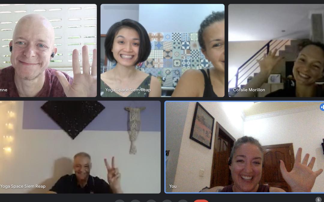 Yoga Space teachers Google Meet
