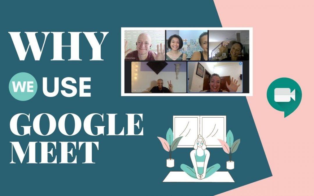 Yoga Space Google Meet