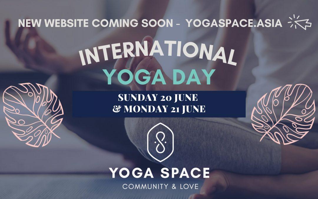 International Yoga Day 2021 | Yoga Space Siem Reap