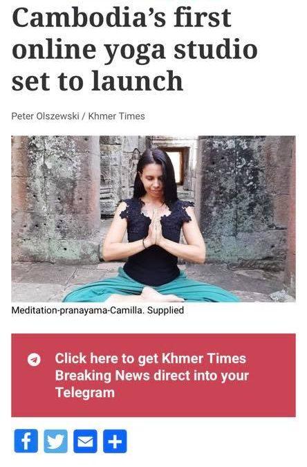 Camilla Valsecchi - Yoga Space Siem Reap