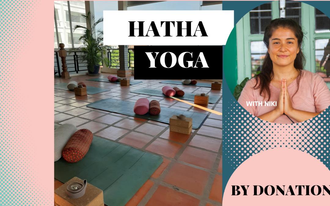 Hatha Yoga with Niki – BY DONATION