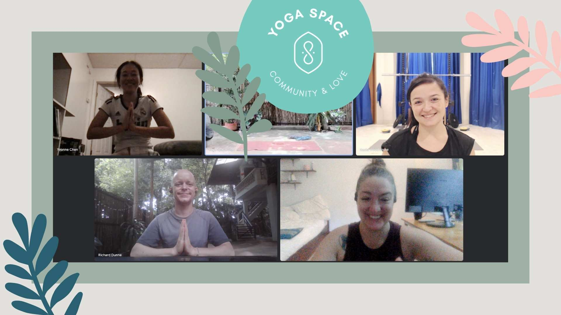 Yoga Space class
